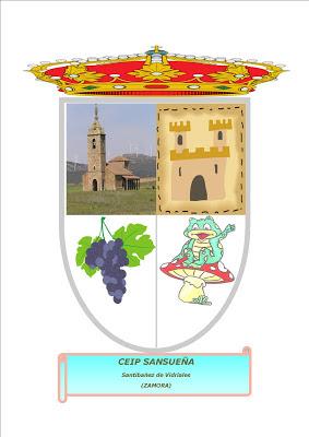 El escudo del Reino del Sansueña