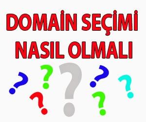 domain seçimi nasıl olmalıdır