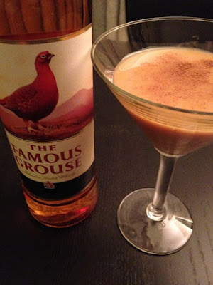 The Famous Grouse Scotch Pumpkin Pie Martini