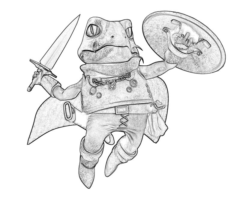 frog-skill-coloring-pages