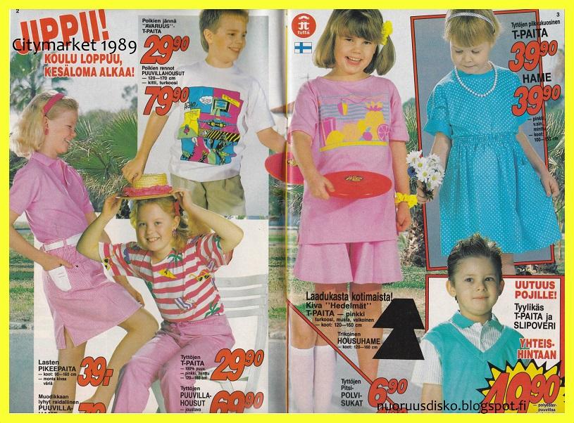 Kuuma ja villi neonkesä 1989