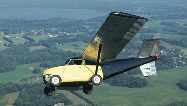 AEROCAR ketika ujian penerbangan.