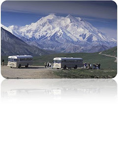 Mount McKinley or Denali in Alaska, is the highest mountain peak in North America.