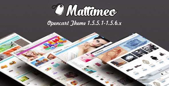 Mattimeo_Responsive_OpenCart_Theme