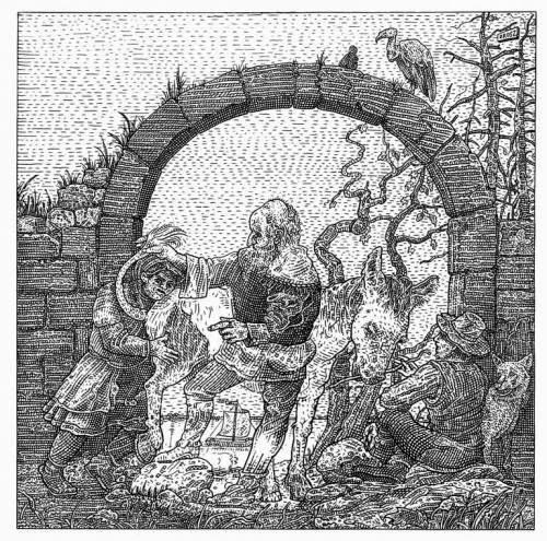 Рисунок Иштвана Ороса (Orosz István)