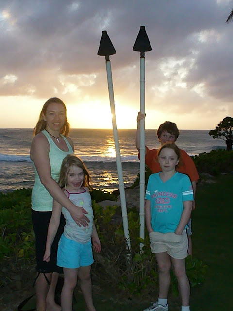 Sunset North Shore Hawaii Oahu Turtle Bay