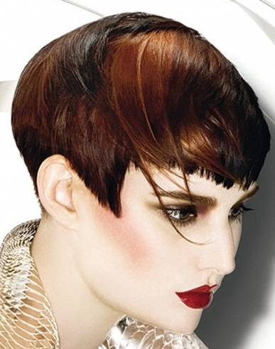 Short Two Tone Hair Style 2014
