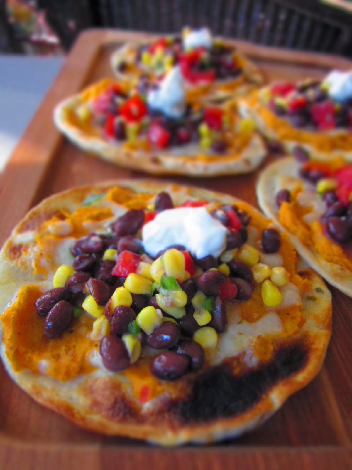 Sunday Snackday: Sweet Potato Black Bean Tostadas