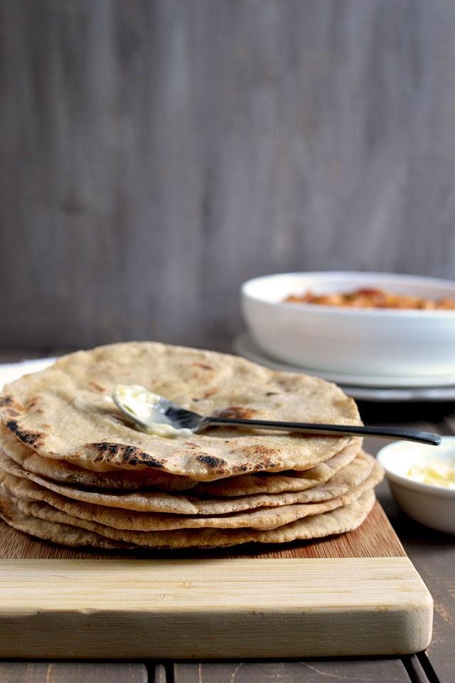 Mughlai Khamiri Roti