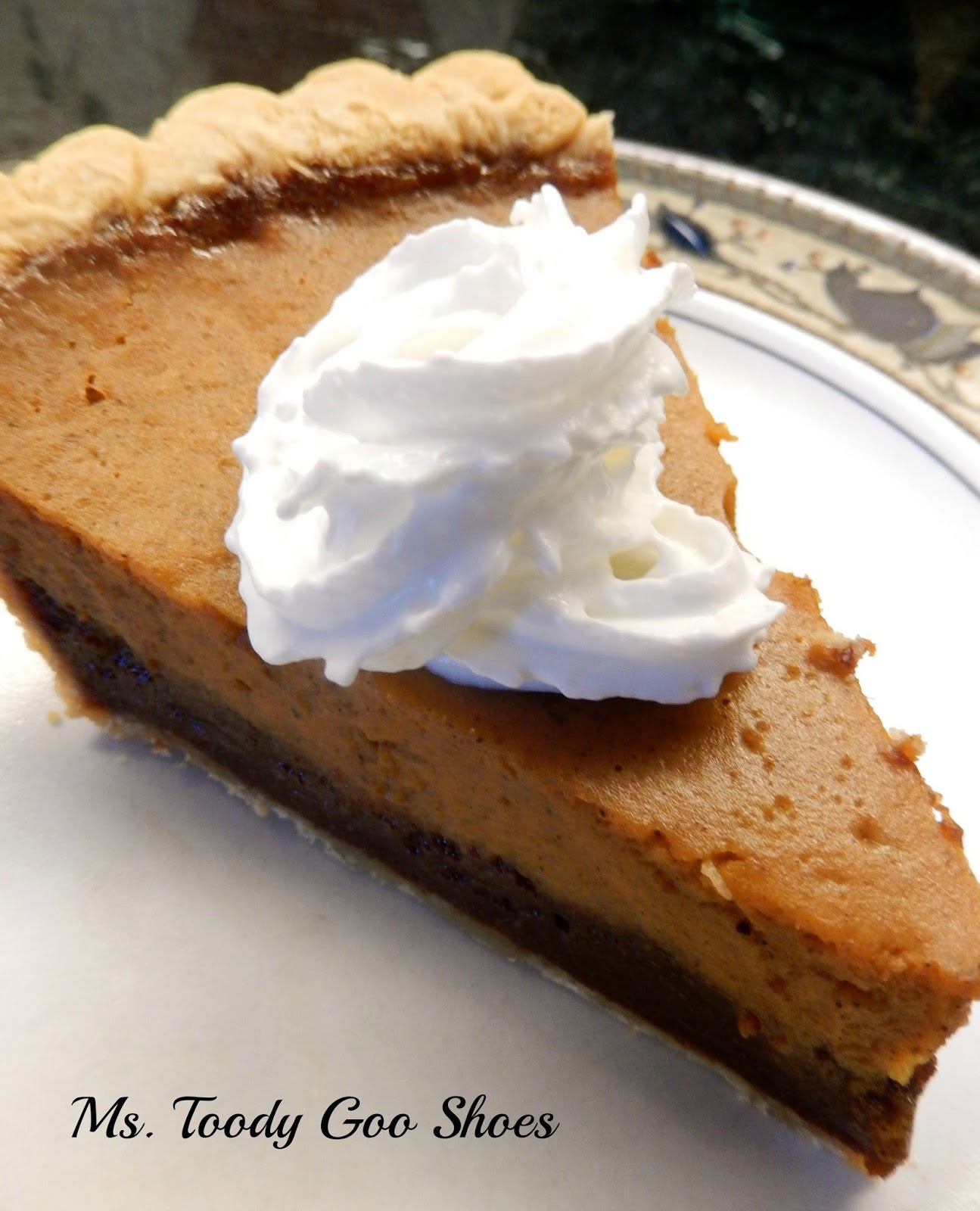 Nutella Pumpkin Pie - AMAZING!   --- Ms. Toody Goo Shoes
