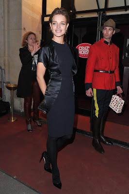 Natalia Vodianova Little Black Dress