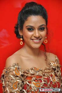 Rupa Manjari Pictures in Designer Dress at Sivappu Movie Audio Launch