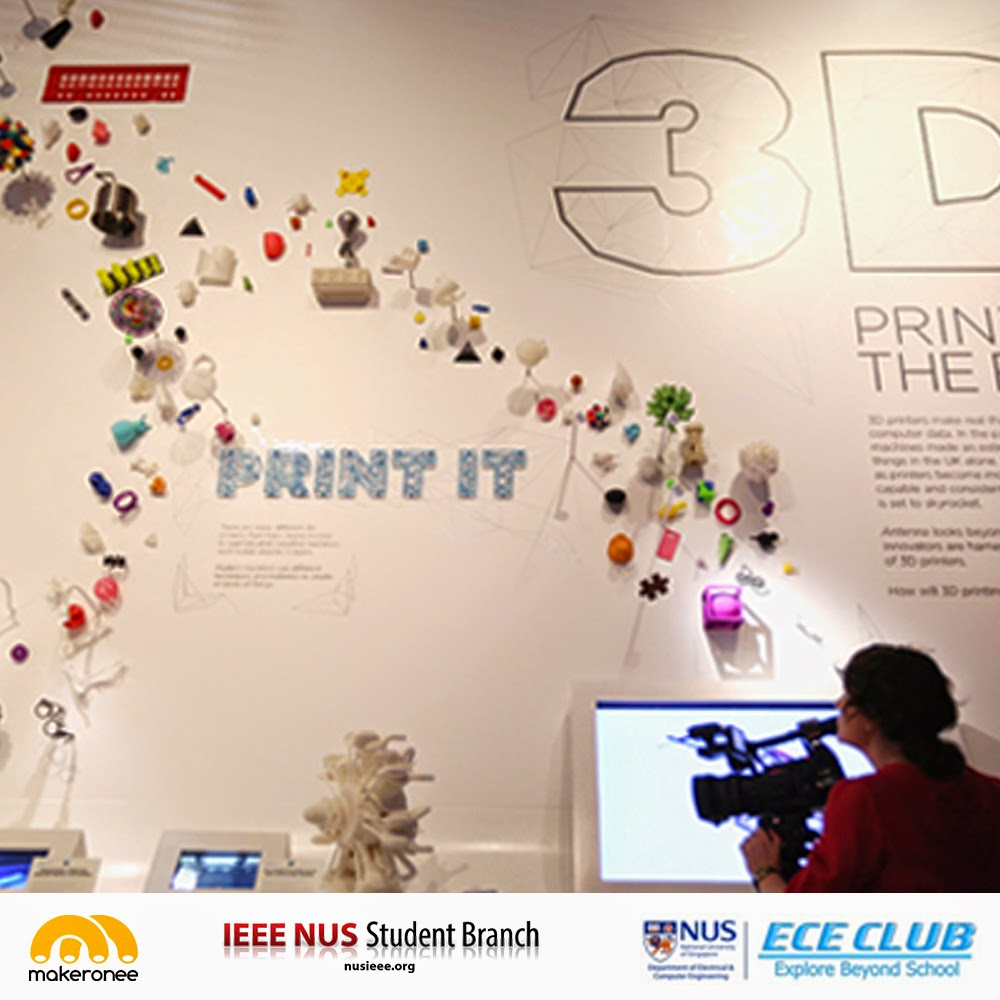 D Printing Exhibition Singapore : Belle memoire d printing exhibition in national