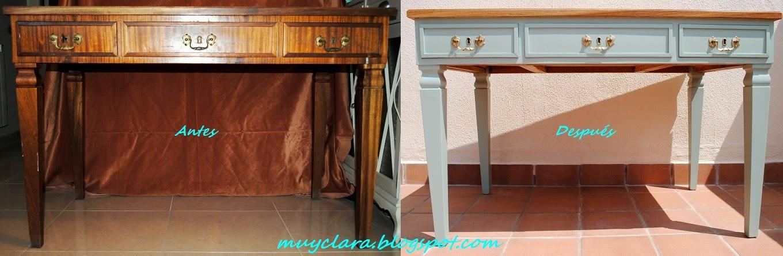 Mi secreto est en lijar muy suavemente la ltima capa y - Lacar una mesa ...