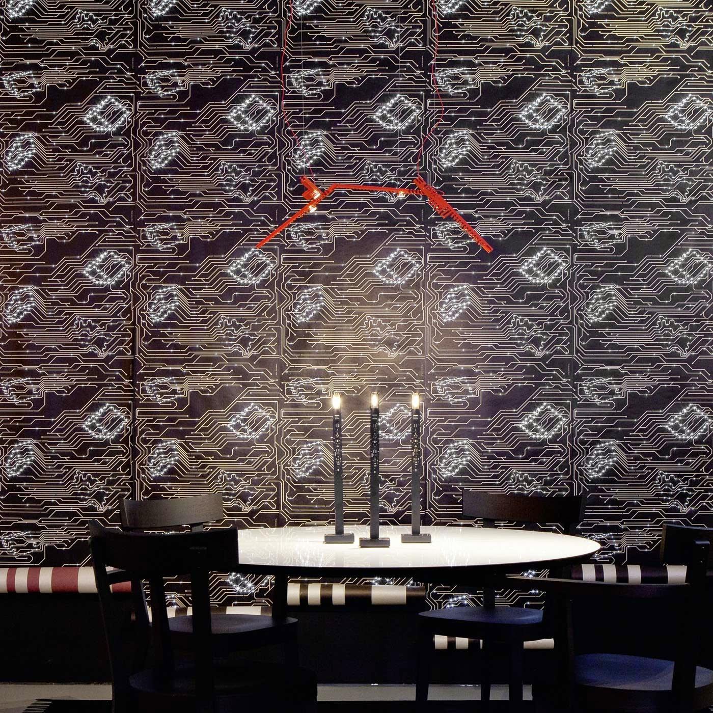 ingo maurer my new flame vor led wallpaper