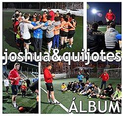Joshua Peters con el Quijote Rugby: Fotos