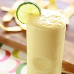 Mango Tamarind Tropical Shake Season with Spice tart tangy sweet drink