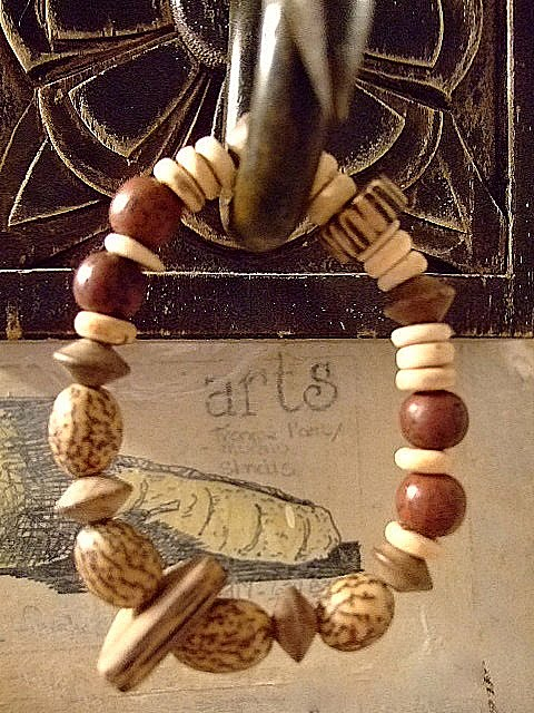 Tropical Nut Stretch Bracelet