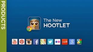 Comparte contenido en redes sociales desde Chrome con Hootlet.