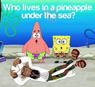 funny osama bin laden sponge bob squarepants