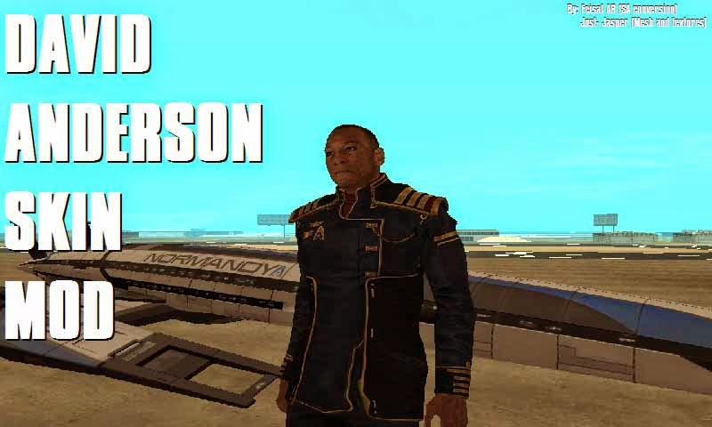 David anderson mass effect