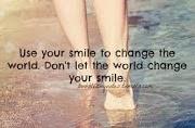 Porque sorrir para mim importa