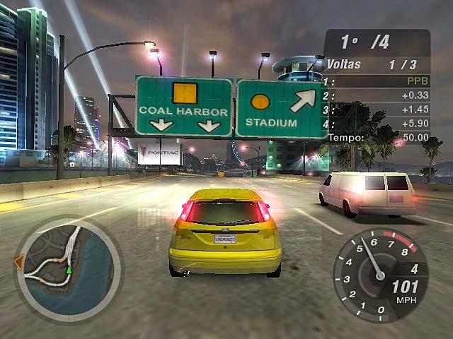 Need For Speed Underground 2 (Rip) PT-BR