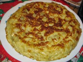 Tortilla de Chancho Asado