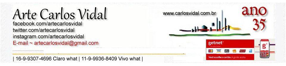 Arte  Carlos Vidal ~ WWW.CARLOSVIDAL.COM.BR