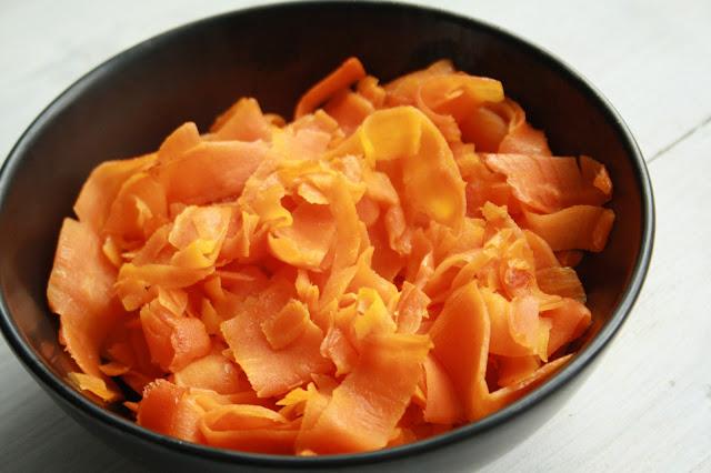 paleo nudle testoviny zeleninove