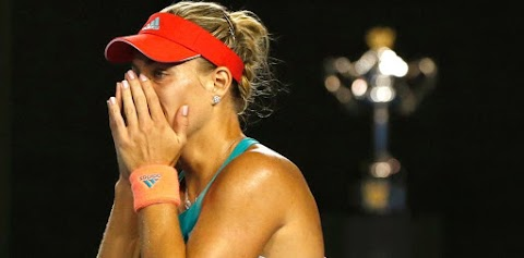 Tearful Kerber stuns Williams to win first major title