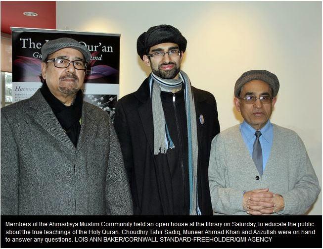 Kanada: Open House Jamaat Muslim Ahmadiyah Dukung Perdamaian