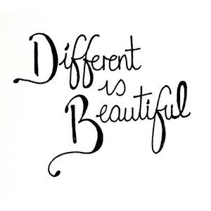 Different is Beautiful!