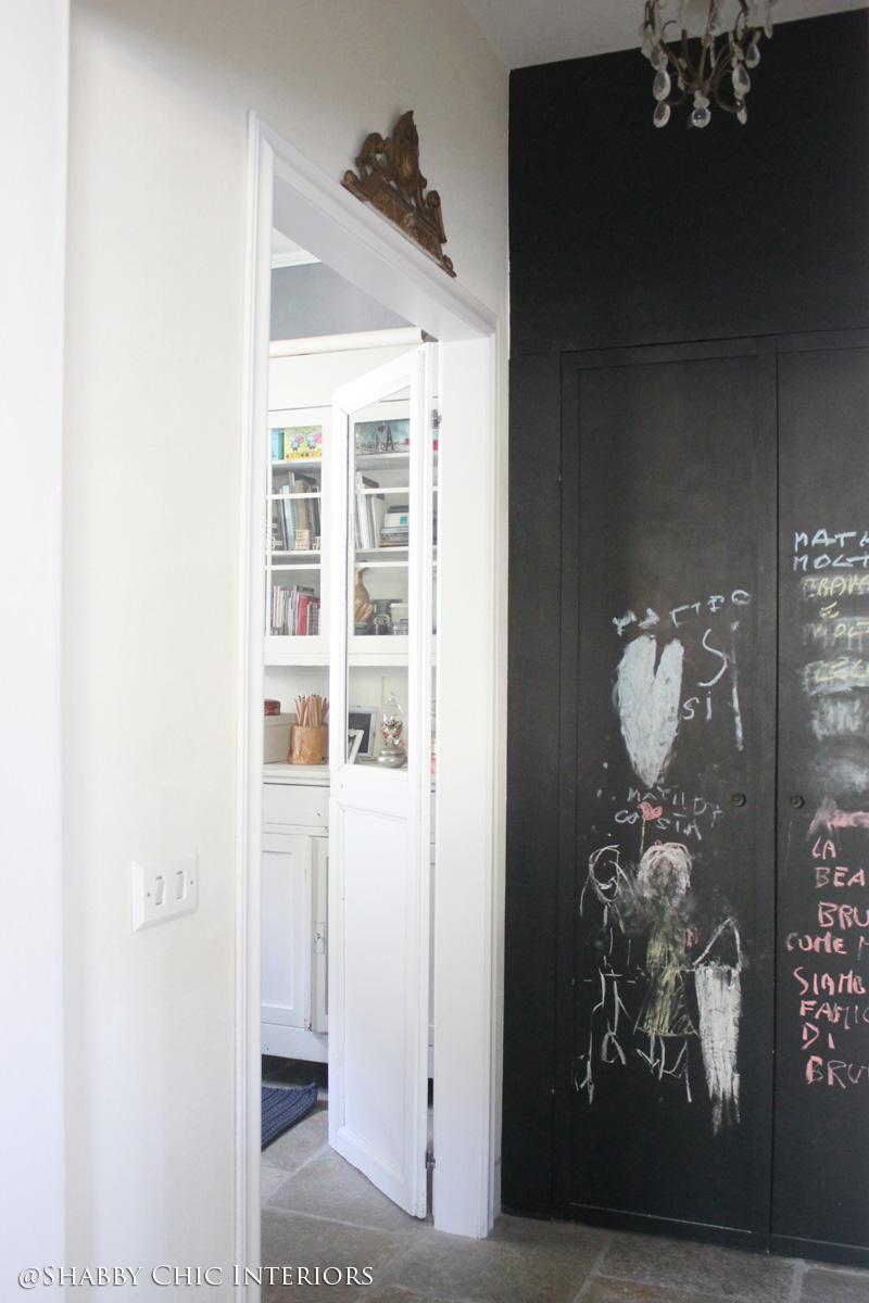 Che cos'è la chalkboard? - Shabby Chic Interiors