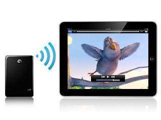 Satellite GoFlex disque dur 500Go wifi iPad iphone