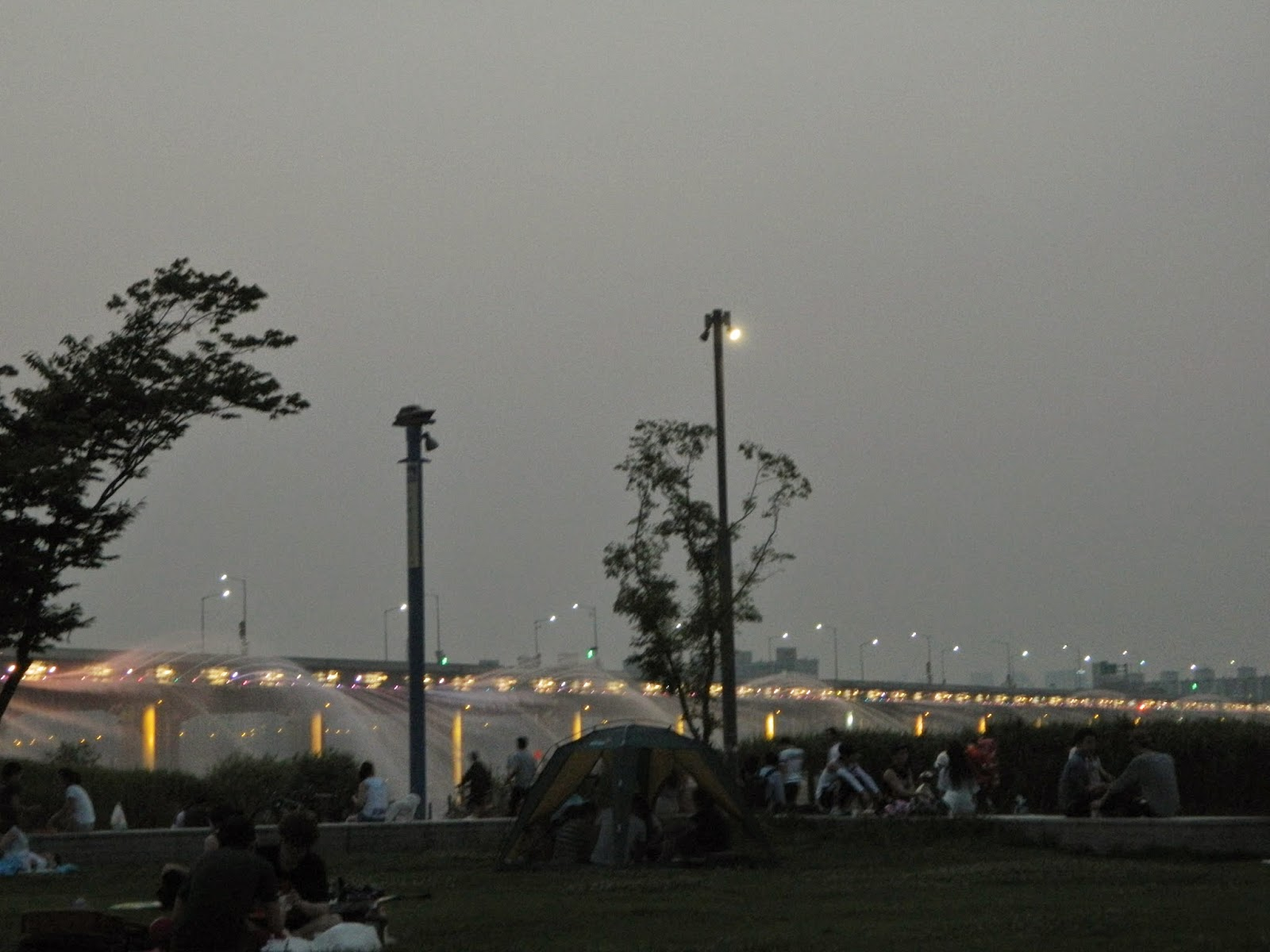 Evening at Banpo