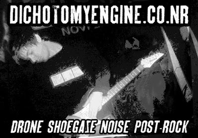 Dichotomy Engine stickers noise drone shoegaze