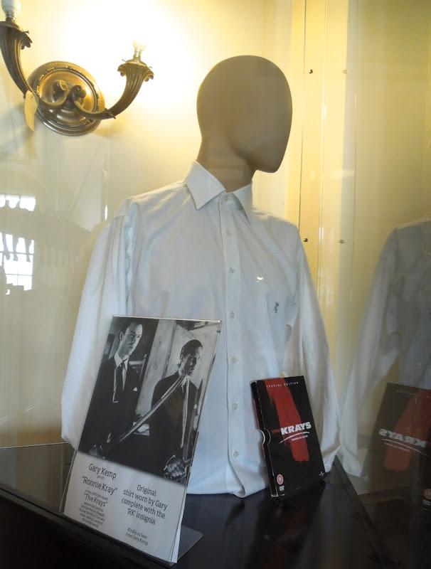 Gary Kemp Krays monogrammed shirt
