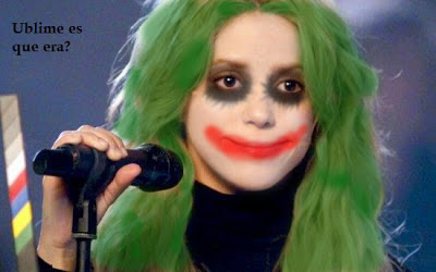 Shakira batman joker