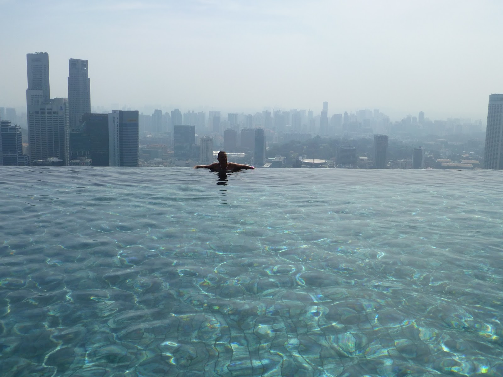 Cath hk marina bay sands hotel singapour for Hotel singapour piscine