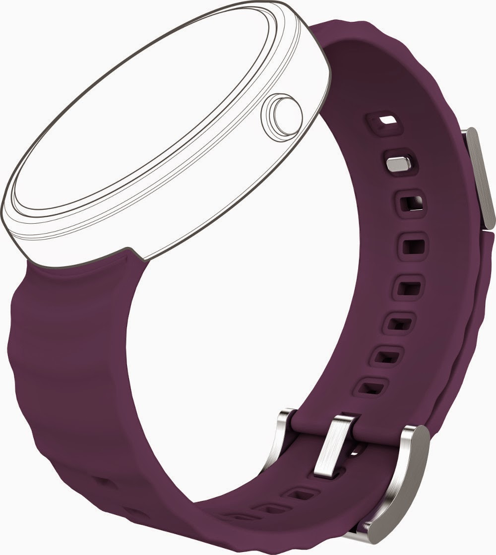 Motorola Moto 360 Metal - Tylt_Purple
