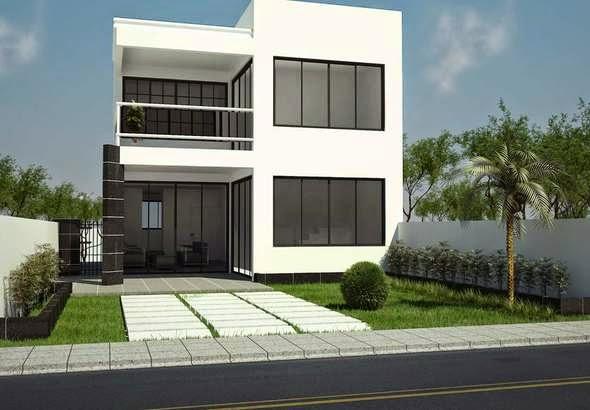 fachada de duplex