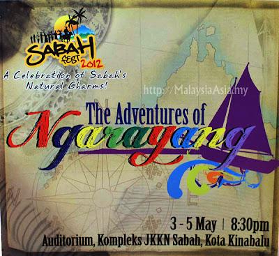 Sabah Fest Adventures of Ngarayang