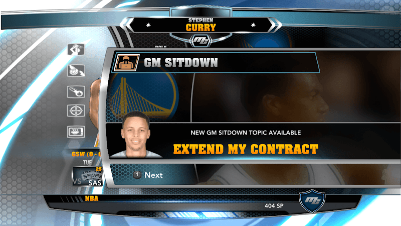 NBA 2k14 MyCareer Mod : Stephen Curry - hoopsvilla