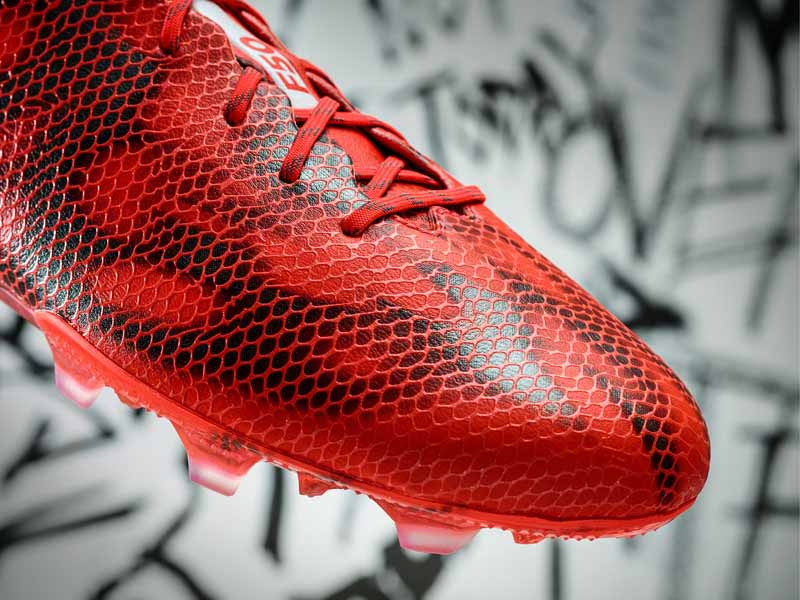 adidas f50 adizero red and white stripes