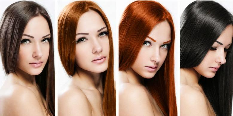 Foto Rambut Indah Wanita Tips Cara Menebak Kepribadian dari Warna Rambut Cewek