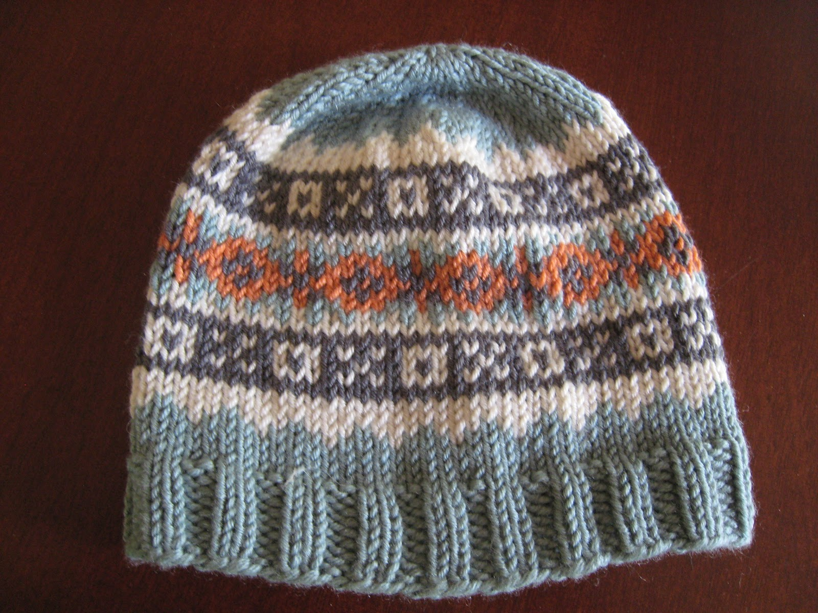 Free Fair Isle Knitting Patterns Hats : Spicy Jellybean Kids : October 2012