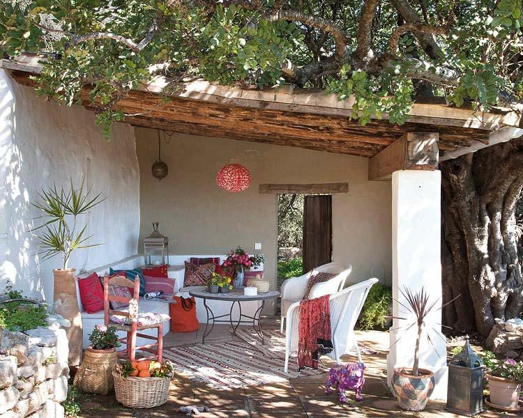 Un porche con sabor andaluz y detalles marroqu es c sas de pel cula - Casas marroquies ...