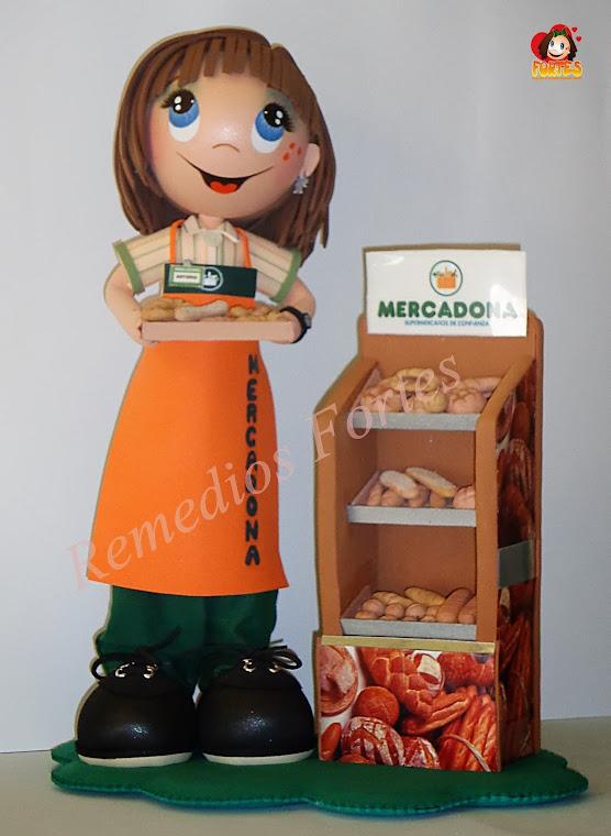Antonia, panadería Mercadona