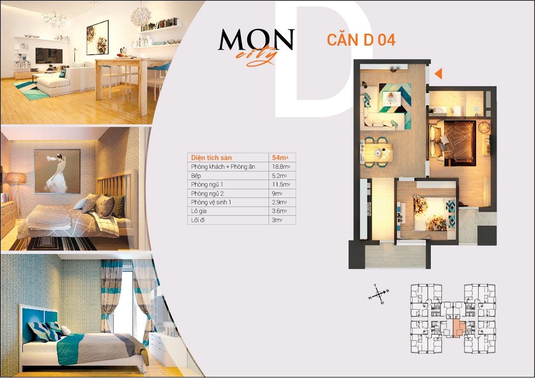 Chung Cư HD Mon City Hải Đăng